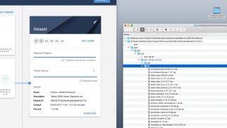 Screenshot Docker-Container