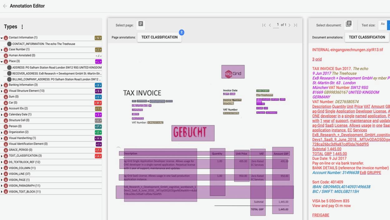Screenshot visual annotations