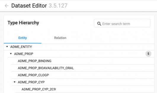 Screenshot Cognitive Workbench - ADMET
